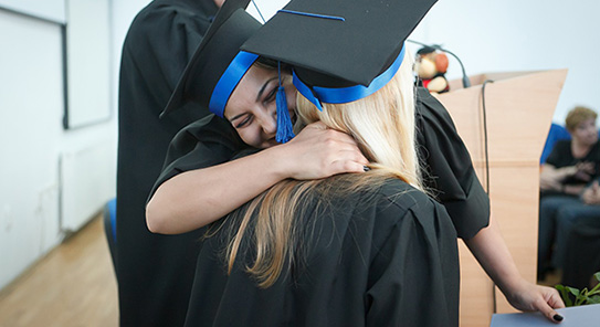 PSW students graduating from City College
